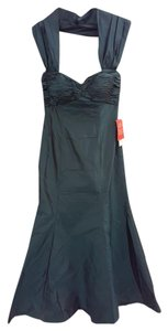 Chetta B. by Sherrie Bloom and Peter Noviello Halter Silk Mermaid Evening Mother Of The Bride Dress