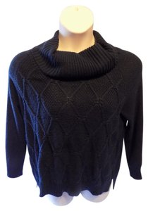 89th & Madison Solid Modern Updated Cowl Sweater