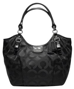 Coach Madison Opt Art Sateen Abigail Shoulder Bag