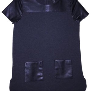 Ann Taylor Top Gray and black