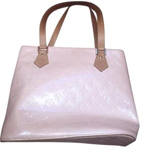 Louis Vuitton Vernis Patent Leather Tote in Pink