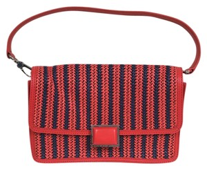 Marc by Marc Jacobs Satchel in Coral Red/Multi