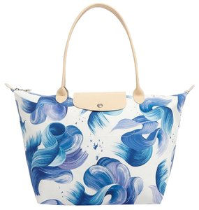 Longchamp Tote in Cornflower