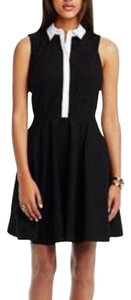 A|X Armani Exchange short dress Black, white on Tradesy