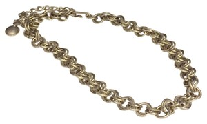 Lisner Lisner Vintage Silver Chain Necklace