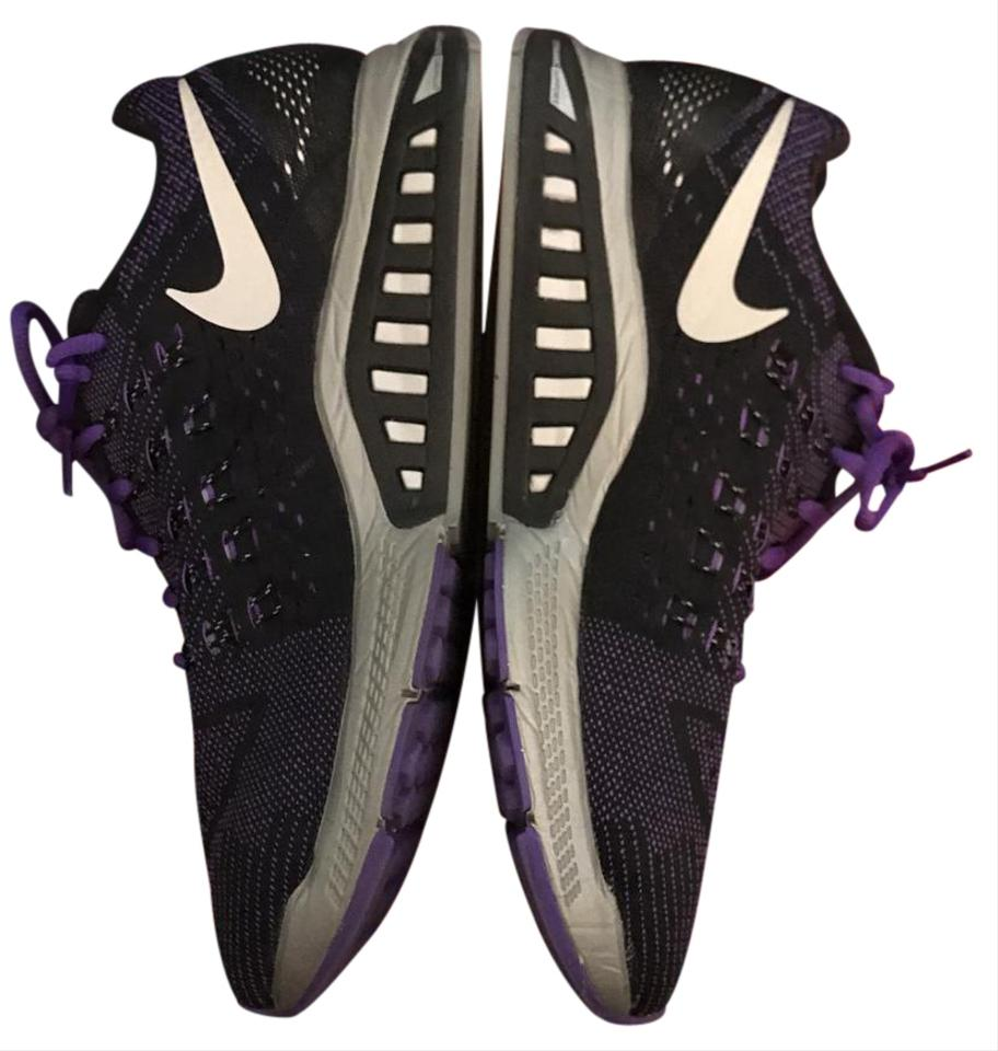 new concept 3d795 8bf49 Nike Hyper Grape Reflect Silver Black Zoom Structure 18 Flash Women s  Sneakers