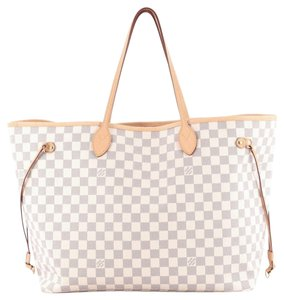 Louis Vuitton Canvas Tote in White