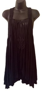 Free People short dress Black on Tradesy