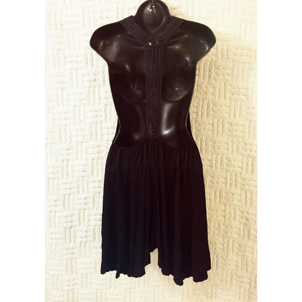 Short Black Casual Free Dress People zAE5qw