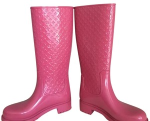 Louis Vuitton Pink Boots