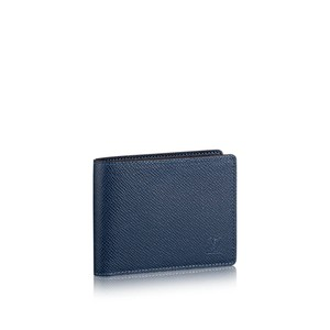 Louis Vuitton Louis Vuitton Slender Taiga Ocean Men Wallet
