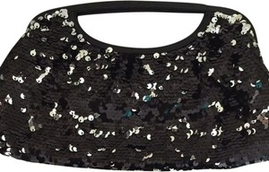 Express Black Clutch