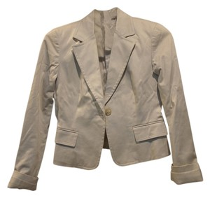 Uniqlo Pockets Khaki Blazer