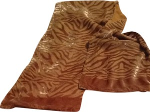 Other Velvet And Chiffon Oblong Scarf