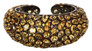 M.C.L by Matthew Campbell Laurenza MCL By Matthew Campbell Citrine Dome Luxe Cuff