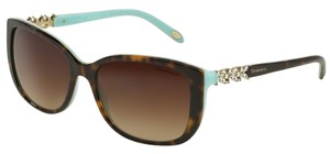 Tiffany & Co. Tiffany & Co 4090-B Sunglasses TF4090B Havana Blue 81343B Authentic