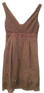 Anthropologie short dress DK Taupe on Tradesy