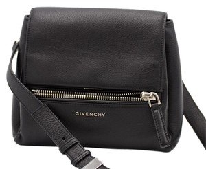 Givenchy Vintage Leather Lambskin Cross Body Bag