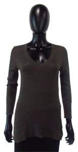 James Perse 3/4 Sleeve T Shirt Charcoal