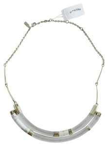 Alexis Bittar ALEXIS BITTAR Crescent Color Blocked Lucite Howlife Bib Necklace