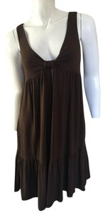 Vince short dress Brown Bow on Tradesy