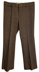 Banana Republic Straight Pants Black and grey