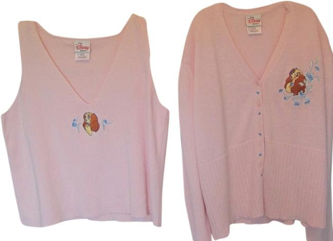 Preload https://item5.tradesy.com/images/disney-pink-2-piece-vest-sweaterpullover-size-4-s-1956224-0-0.jpg?width=400&height=650