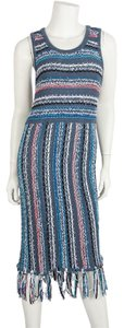 Derek Lam short dress Blue on Tradesy