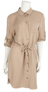 ADAM short dress Beige on Tradesy