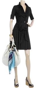 Diane von Furstenberg short dress Black Belt on Tradesy