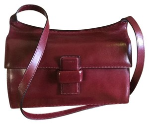 Minobossi Italian Leather Petit Cross Body Bag