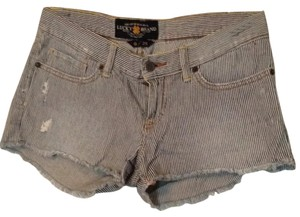 Lucky Brand Mini/Short Shorts Blue, white