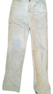 Colebrook & Co. Suede Skinny Pants Taupe