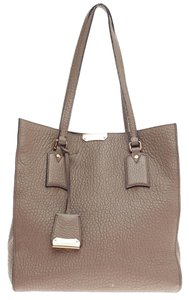 Burberry Leather Tote in Taupe