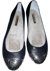 BCBGeneration Chic Metallic black Flats