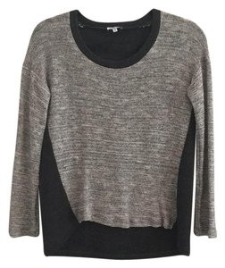 Splendid Metallic High-lo Sweater