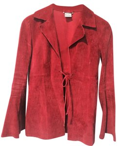 Wet Seal Suede Rust Blazer
