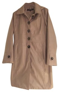 Kenneth Cole Reaction Fall Hooded Water-resistant Trench Coat