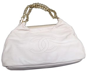 Chanel Gold Hardware Tote in Beige