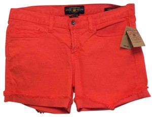Lucky Brand Cut Off Shorts Poppy