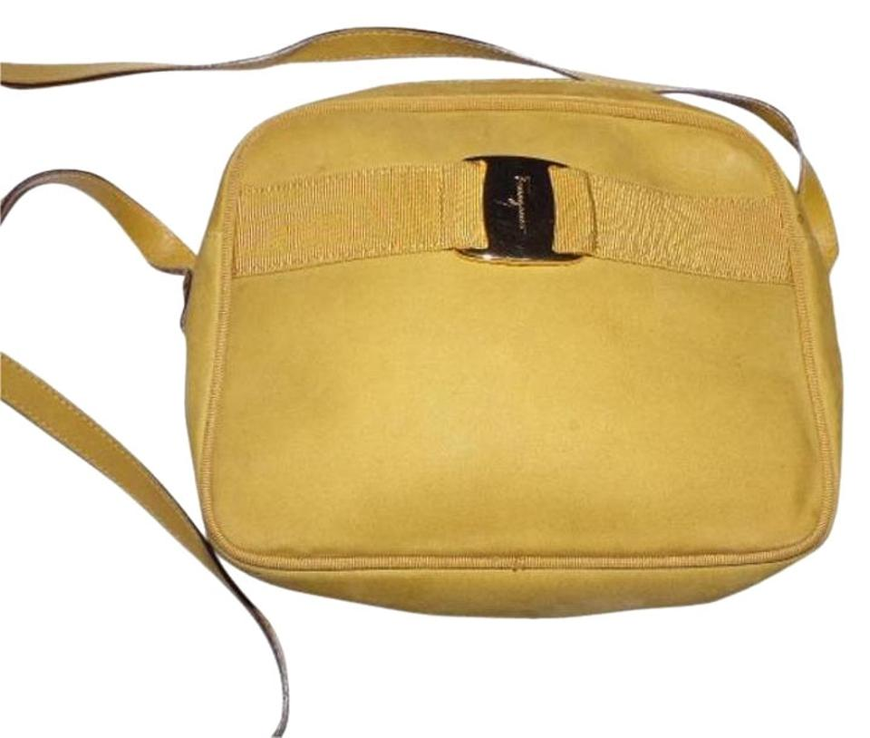 ee25a33c8 Salvatore Ferragamo Gold Hardware Vara Accent Body/Shoulder Excellent  Vintage 1970's- 80's Cross Body ...
