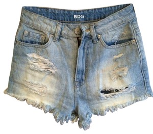 BDG High-rise Cutoff Cut Off Shorts Denim