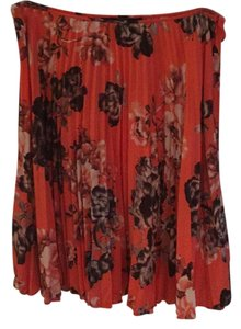 Barneys Co-Op Skirt Coral/multi