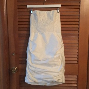 Jim Hjelm Occasions Short Wedding Dress Wedding Dress