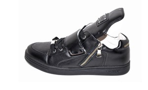 Dolce&Gabbana New Dolce & Gabbana D&g Black Leather Sneakers
