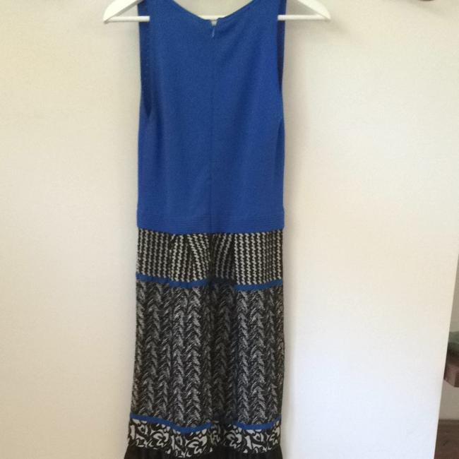 Anthropologie short dress Blue And Black on Tradesy