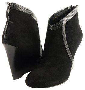 Elie Tahari Charlize Ankle Black Boots