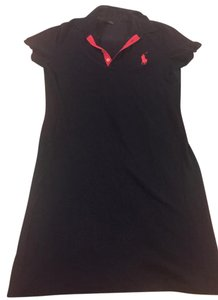 Polo Ralph Lauren short dress Navy and pink on Tradesy