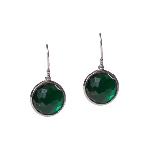 Ippolita Ippolita Green Quartz And Mother of Pearl Drop Earrings