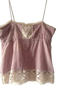 GT G T Lace Trimmed Top blush